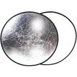 Elementrix odrazná deska 30cm 2 v 1 stříbrná, bílá