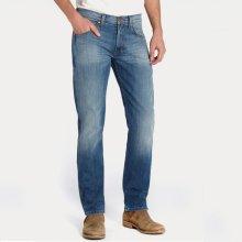 WRANGLER Pánské jeans W15Q-XG-62U GREENSBORO STRETCH Blue What Blue 0c94f933bb