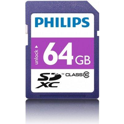 Philips SDXC Class 10 64 GB FM64SD55B/00