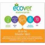 Ecover tablety do myčky All In One 70 ks