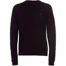 883 Police Don Regular Fit Crew Sweater Mens Burgundy