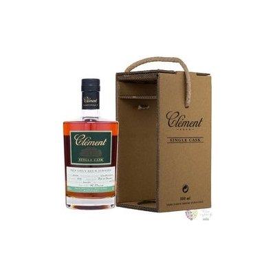 """Clément agricole tres vieux """" Single Cask Vanille Intense """" 2003 rum of Martinique 41.5% vol. 0.5 l"""