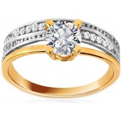 Zlaty Zasnubni Prsten Tiffany Twin Iz8894 Alternativy Heureka Cz