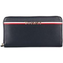 Tommy Hilfiger Dámská kožená peněženka Corp AW0AW05755tmavě modrá 9b74d58f62b