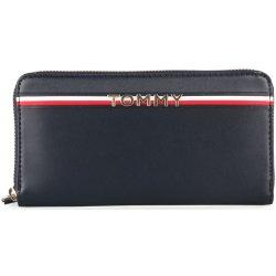 Tommy Hilfiger Dámská kožená peněženka Corp AW0AW05755tmavě modrá ... 1c07d33fed