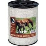 Heapco Elektrická páska bílá 20mm 200m
