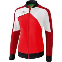 Erima Premium One 2.0 bunda červená bílá
