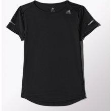 adidas SQ CC RUN SS T černá