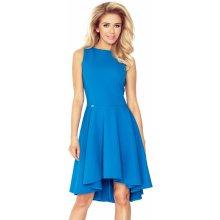 df9e4cb9d116 Luxusní dámské společenské a plesové šaty s asymetrickou sukní modrá