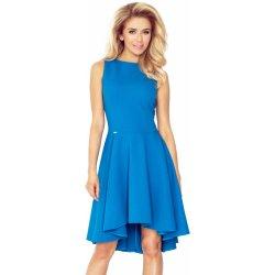 ab2953a3c08 Luxusní dámské společenské a plesové šaty s asymetrickou sukní modrá ...