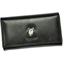 Harvey Miller 3820 155 dámská kožená peněženka černá
