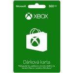 Microsoft Xbox Live předplacená karta 800 CZK