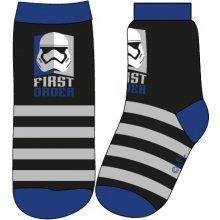 E plus M Chlapecké ponožky Star Wars černo modré