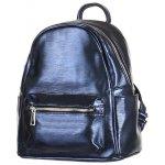 Glara dámský malý lesklý batoh 273862 modrá 756ad8b17f