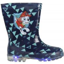 Disney Brand Chlapecké svítící holínky Paw Patrol - modré