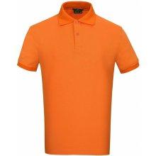 Donnay Rib Polo Mens Orange