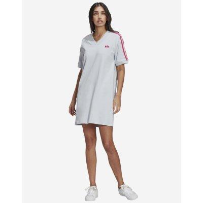 Adidas Originals dámské šaty šedá