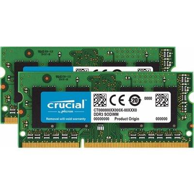 Crucial SODIMM DDR3 8GB KIT 1600MHz CL11 CT2KIT51264BF160B