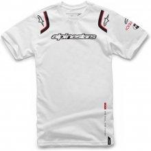 Alpinestars Pánské bílé tričko ALLY TEE krátké 1066-72001 20