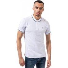 Armani Mens Polo Shirt White
