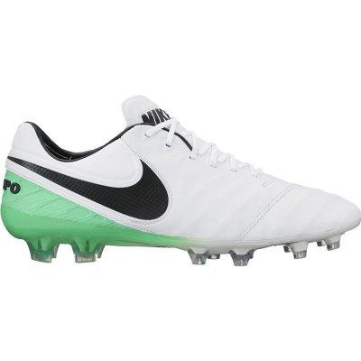 Kopačky Nike Tiempo Legend VI FG White/Black, US 7,5 / EUR 40,5 / UK 6,5