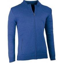Modrý pánský svetr na zip Assante 51011