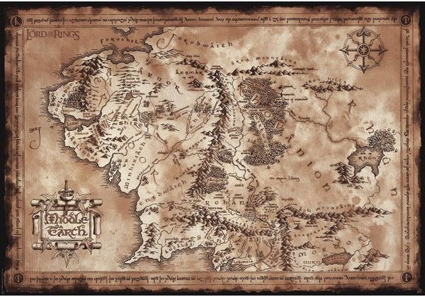 Mapa Stredozeme Alternativy Heureka Cz