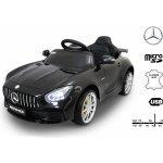 Beneo Elektrické autíčko Mercedes Benz GTR 12V 2,4 GHz dálkové ovládání odpružení otvíravé dveře měkké EVA kola kožené sedadlo černé