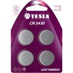 Baterie Tesla CR2430 4ks
