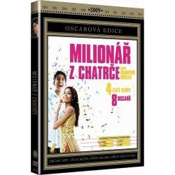 MILIONÁŘ Z CHATRČE DVD
