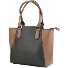 Beiyani velká kabelka v kombinaci s černou hnědá