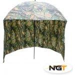 NGT Deštník s bočnicí kamuflážní 220cm
