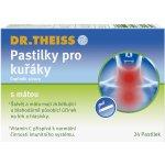 Dr.Theiss Pastilky pro kuřáky 24 ks