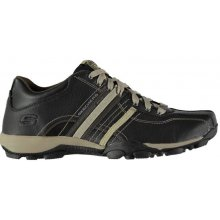 Skechers Urban Tread Refresh Shoes Black/Taupe