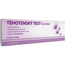MedPharma těhotenský test Komfort 10 mlU ml 2 ks