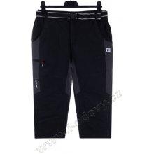kalhoty 3/4 pánské kód 5642-8, černá
