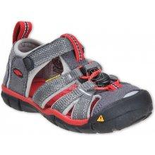 Keen Seacamp II CNX Junior Magnet   Racing Red Dětský sandál 50157d688e