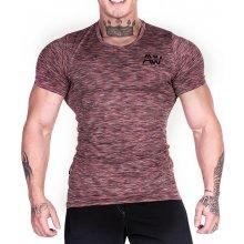 Nebbia Fitness tričko pánske 126 červená