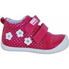 Protetika Dívčí kotníkové boty Rut - tmavě růžové 815e76e99a