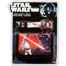 EUROSWAN Dárkový set hodinky a peněženka Star Wars