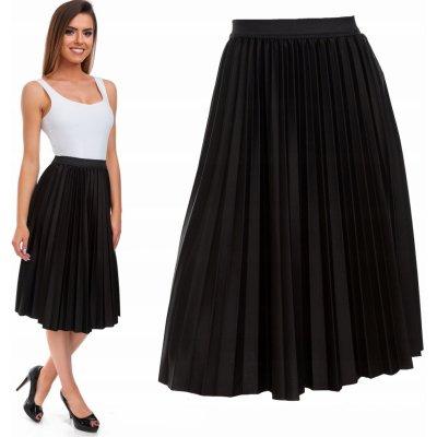 Fashionweek skládaná plisovaná sukně TC111 černá