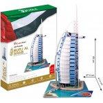 CubicFun 3D puzzle Burdž al-Arab Dubaj 101 dílků