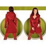 Fashion Červený podzimní kabátek