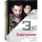 3x České komedie - kolekce DVD