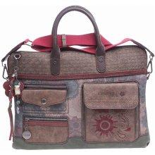 Kimmidoll dámská kabelka 25674 marron