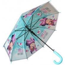 E plus M Dívčí deštník Minnie - modrý