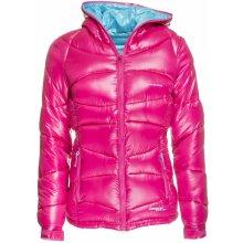 Envy ELLA I dámská zimní oboustranná bunda RŮŽOVÁ