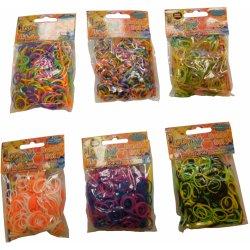 Loom Bands gumičky na výrobů náramků Twister Loom 300 ks