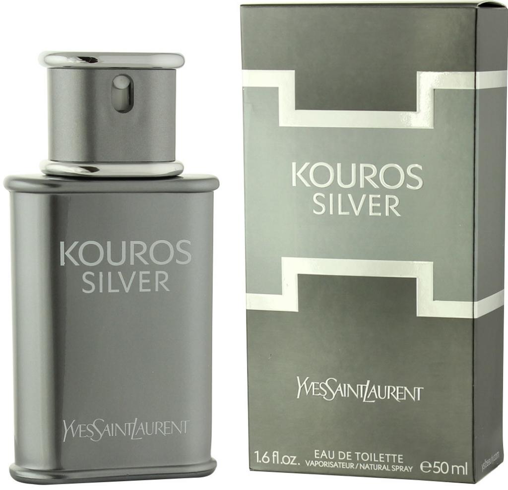 999b1ac484 Yves Saint Laurent Kouros Silver toaletní voda pánská 50 ml od 689 Kč -  Heureka.cz