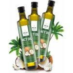 WoldoHealth MCT olej ze 100% kokosového oleje 3x500 ml